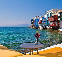 Greece. Mykonos. Little Venice in the afternoon. by vadim19