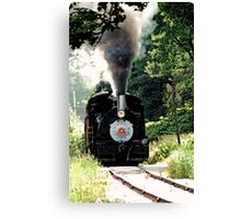 Steam Season Again !! Canvas Print
