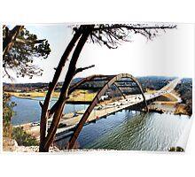 Pennybacker Bridge, Austin Texas Poster