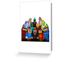 Play minegame Greeting Card