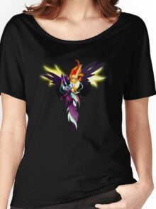 Sunset Shimmer and Twilight Sparkle Women's Relaxed Fit T-Shirt