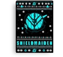 shieldmaiden for the holidays #2 Canvas Print