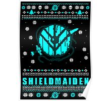 shieldmaiden for the holidays #2 Poster
