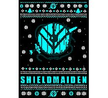 shieldmaiden for the holidays #2 Photographic Print