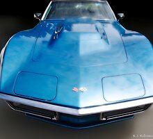 Corvette Blue Dream by Randall Robinson