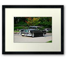 1956 Chevrolet 210 Sports Coupe Framed Print
