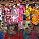 Burmese string puppets, Mandalay. by John Mitchell