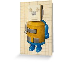 Robot that could  Greeting Card