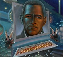 Obamas aura: the unity of the human space, cyborg-cybernetic space organizers by Valeriy Pokrovskiy