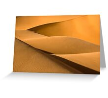 Sand waves - 1 Greeting Card
