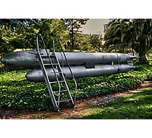 German Manned Torpedo (PG-13 for language) Photographic Print