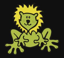 Froglion design for clothing Kids Clothes