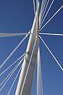 Abstract Bridge Lines, Winnipeg, Manitoba, Canada  by Carole-Anne