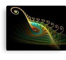 Spirals of Color Canvas Print