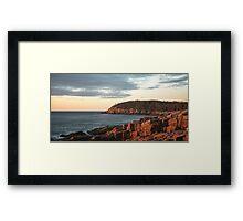 Distant Cove – Acadia National Park, Maine Framed Print