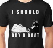 I Should Buy A Boat - Classic Cat Meme v.2 Unisex T-Shirt