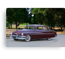 1951 Mercury Monterey Coupe Canvas Print