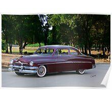 1951 Mercury Monterey Coupe Poster