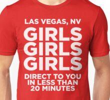 LAS VEGAS TEE - GIRLS GIRLS GIRLS  Unisex T-Shirt
