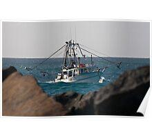 Tweed Trawlers #4 - Seaview Poster
