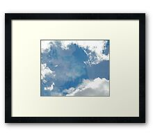Bags Are Packed & Bound for Glory Framed Print