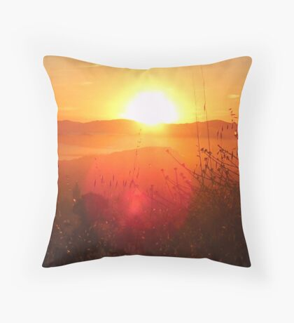 Claremont Canyon 6 Throw Pillow
