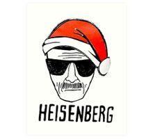 Heisenberg Christmas Art Print