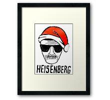 Heisenberg Christmas Framed Print