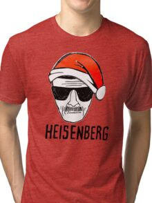 Heisenberg Christmas Tri-blend T-Shirt