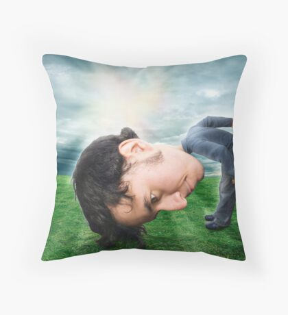 All These Things In My Head Throw Pillow