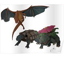 Not so Pocket Monsters  Poster