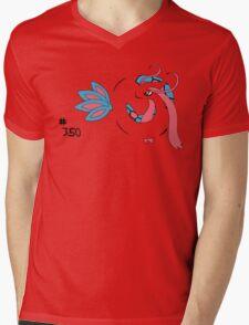 Pokemon 350 Milotic Mens V-Neck T-Shirt