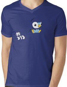Pokemon 393 Piplup Mens V-Neck T-Shirt