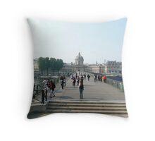 Pont Des Arts Throw Pillow