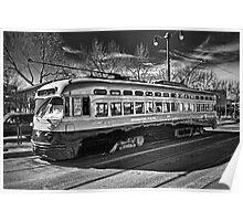 Birmingham Electric - San Francisco Street Car Poster