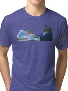 I Should Buy A Boat - Classic Cat Meme v.3 Tri-blend T-Shirt