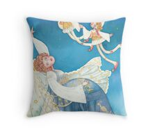 The dream of the bride Throw Pillow