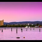Sunset Silos by MadKeane