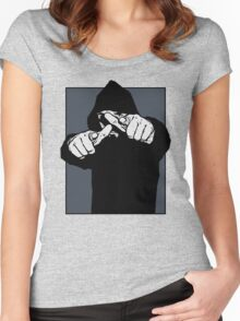 Hey You #2 Women's Fitted Scoop T-Shirt