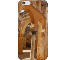 Chellah arches, Morocco iPhone Case/Skin