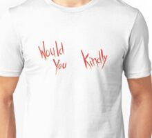 BioShock – Would You Kindly (Smeared Red) Unisex T-Shirt