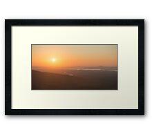 Cadillac Sunset – Acadia National Park, Maine Framed Print