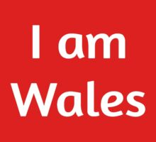 I am Wales - Welsh rugby union Kids Clothes