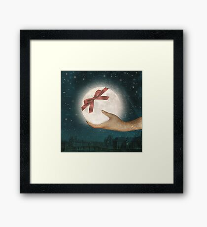 For You, The Moon Framed Print