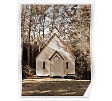 ~ St Barnabas Church ~ Yarramalong ~ NSW ~ Poster