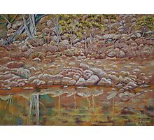 The other side of the River - Coblinine Dumbleyung Photographic Print