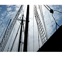Mast Rigging Photographic Print