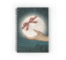 For You, The Moon Spiral Notebook