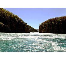 White Water, Horizontal Falls, West Australia Photographic Print