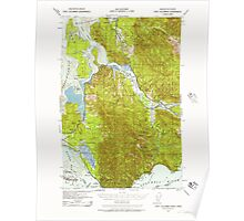 USGS Topo Map Washington Fort Columbia 241169 1938 62500 Poster
